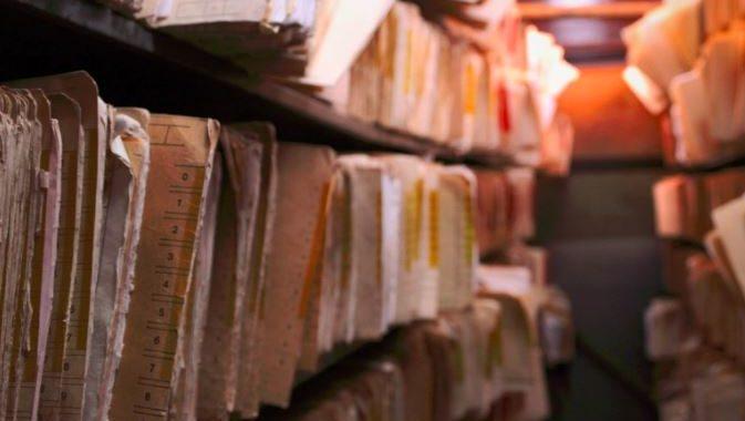 Scanare stat de plata - Poza a unei arhive de documente cu state de plata
